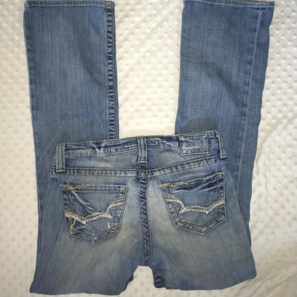 dee6f64b81e Big Star Jeans   Maddie Mid Rise Boot Cut Distressed Jean   Poshmark